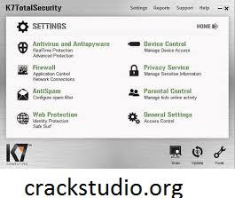 K7 TotalSecurity 16.0.0418 Crack