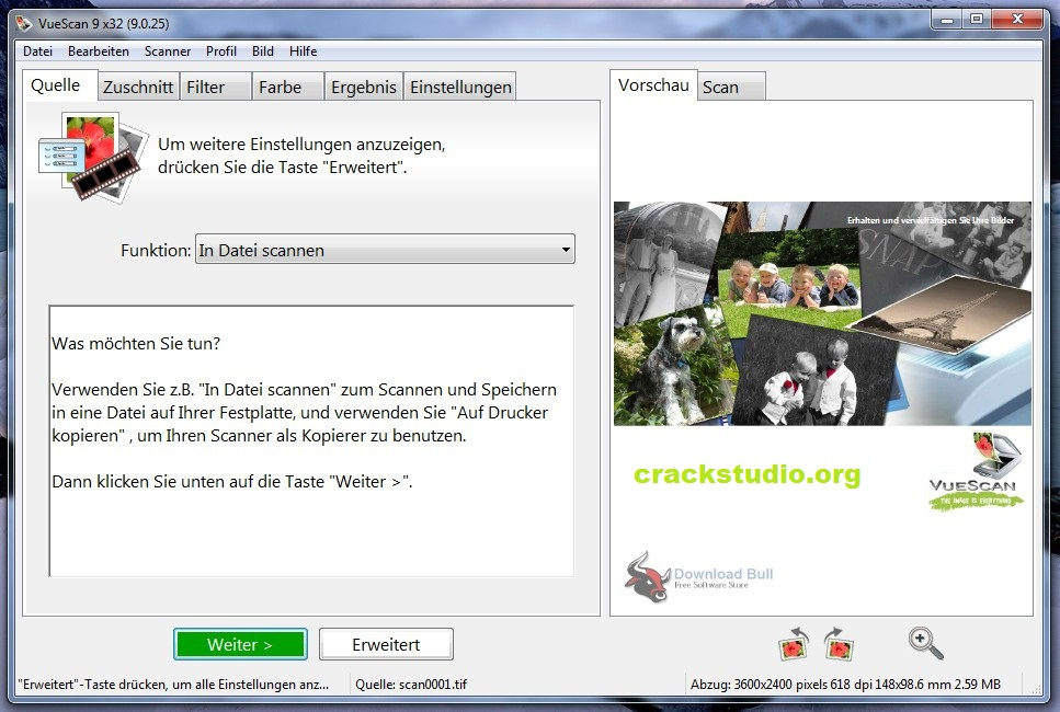 VueScan Pro 9.7.54 CrackPlus License Key Full Free Download 2021